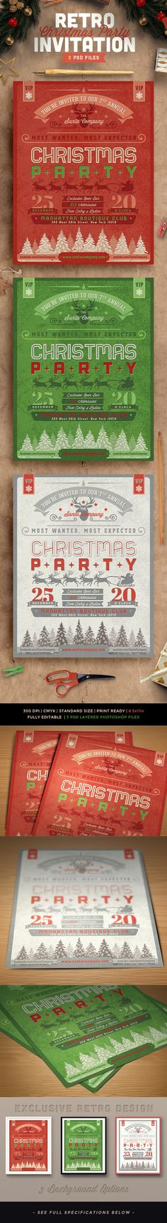 My Favorite Christmas Invitations and Christmas Cards Holiday - microsoft office invitation templates free download