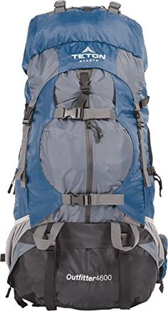 6825f5dba123 Teton Sports Outfitter 4600 Ultralight Internal Frame Backpack – Not Your  Basic Backpack  High-