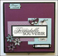 Album Photo Scrapbooking, Scrapbook Layouts, Mini Albums, Photos, Card Holder, Crafty, Creative, Cards, Minis