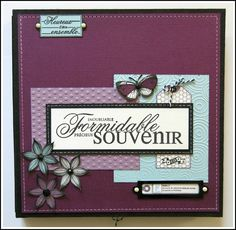 Mini Album : Formidable Souvenir