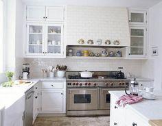cocina blanca muebles blancos