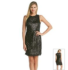 Product: Vince Camuto® Sequin Shift Dress