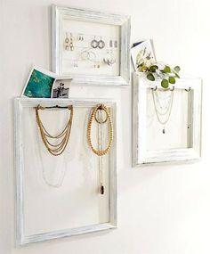 1000 ideas about porte bijoux mural on pinterest - Porte bijoux mural ikea ...