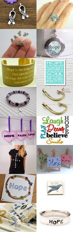 Hope is a Must Have ! by TheDaintyBoutique on Etsy--Pinned with TreasuryPin.com