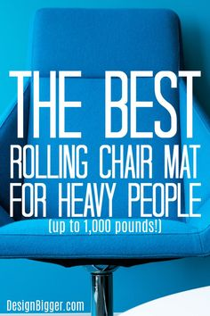 Best Chair Mat For Heavy Person (up to - Design Big Best Computer Chairs, Glass Chair, Rolling Chair, Chair Mats, Plus Size Men, Cool Chairs, Floor Mats, Making Out, Carpet