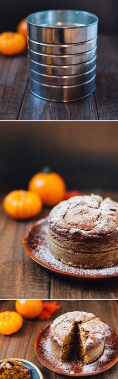 Pumpkin Tea Bread (in a Coffee Can!) - Alyssa and Carla #virtualpumpkinparty