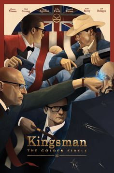 Kingsman: The Golden Circle (2017) HD Wallpaper From Gallsource.com