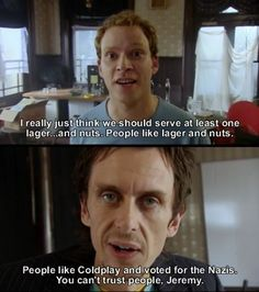 Superhans and Jeremy should totally leave that washing machine in the middle of their pub!