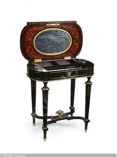 NAPOLEON III WORK TABLE sold by Lyon and Turnbull, Edinburgh, on Wednesday, December 08, 2010