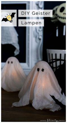 Make DIY halloween decoration yourself: ghost lamps and ghost pendants Diy Halloween Decorations, Halloween Diy, Pet Fashion, Fish, Blog, Animals, Inspiration, Decorating Ideas, Bikini