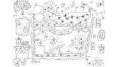 Prijsvraag tekening donderdag | Jill | AVROTROS Doodle Art, Bff, Vintage World Maps, Doodles, Diagram, Drawings, Letters, Illustrations, Kids