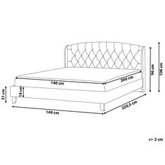 Heidelberg Upholstered Bed Frame Red Barrel Studio Size: European Super King x 200 cm) Bed Frame Design, Diy Bed Frame, Bedroom Bed Design, Bedroom Furniture Design, Bed Furniture, Upholstered Bed Frame, Upholstered Platform Bed, Bordeaux, Bed Designs With Storage