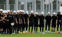 Bursasporlu futbolcular idmana böyle çıktı