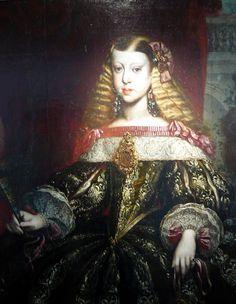 MARGARITA TERESA DE HABSBURGO | Flickr - Photo Sharing! Infanta Margarita, Mystery Of History, Art History, Elizabethan Clothing, Baroque Painting, Spanish Woman, Academic Art, Antique Pictures, Body Drawing