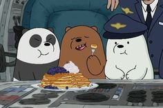 Imagen de cartoon, grizzly, and we bare bears Ice Bear We Bare Bears, 3 Bears, Cute Bears, Foto Cartoon, Cartoon Pics, Cartoon Characters, We Bare Bears Wallpapers, Animated Icons, Cartoon Profile Pictures