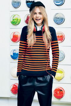 My World: Cara Delevingne | TeenVogue.com --- Basically my fashion spirit animal.