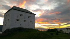 Kristiansten Festning. By Plane, Trondheim, Norway, Celestial, Adventure, Sunset, City, Outdoor, Outdoors