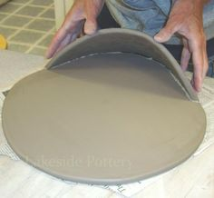 How to Make Clay Water Font | Slab Construction Project