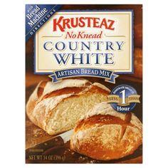 Krusteaz No Knead Artisan Bread Mix Country White, 14.0 OZ