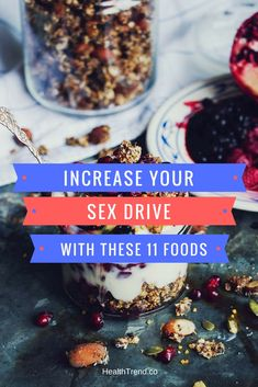 If you go to bed with your partner and feel more like sleeping than making love you need to increase your sex drive. Fortunately, you do not need any kind of medicine or pills, just the foods that we recommend below. It has been proven that the food you eat directly influences your sexual desires.