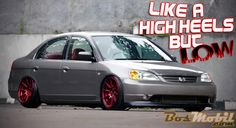 Modifikasi Honda Civic VTi : Like A High Heels, But Low #infomodifikasi