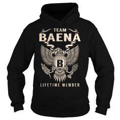 Team BAENA Lifetime Member - Last Name, Surname T-Shirt