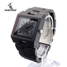 23.39$  Buy here - http://alipam.shopchina.info/go.php?t=32778802456 - BOBO BIRD L23 Black Sandal Wood Men Watch Analog Quartz Movement Lightweight Vintage Wooden Watch With Gift Box 23.39$ #magazine