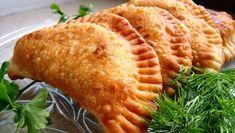 Чебуреки с мясом: вкуснейшее хрустящее тесто