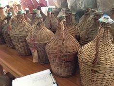 Vintage french wine bottles #484