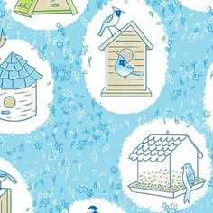 Alyssa Thomas - Sweet Tweets Organic - Birdhouses in Bluebird