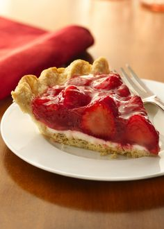 The best strawberry pie. I used 8 oz. of cream cheese and 1/2 cup powdered sugar, plus topped it with whipped cream - amazing!