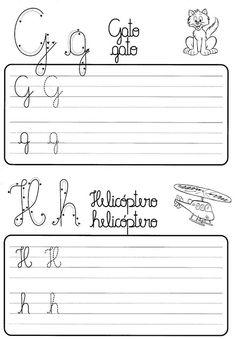 Atividade de caligrafia letras do alfabeto ilustrado - Como Fazer Growth Mindset, Homeschool, Math Equations, Mood, Writing, Reading, Download, Porsche 911, Preschool Literacy Activities