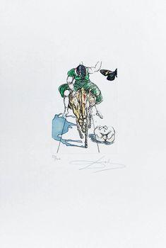 "Salvador Dalí: ""Le Tricorne, plancha 19"" 83/200 - Subasta Real"