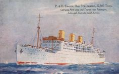The P&O Liner Strathaird