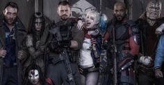 SUICIDE SQUAD: First Costumed Cast Photo Revealed