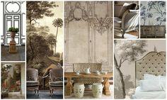 Grisaille Murals-Wallpapers-Art-Screens {part II} - laurel home