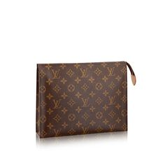 Descubra el Louis Vuitton Poche Toilette 26 a través de Louis Vuitton