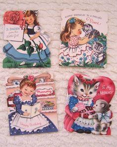 More vintage cards.