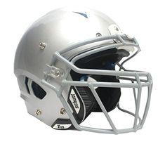 f5fff3d5 Schutt Adult Vengeance w/attached Titanium Facemask (Metallic SIlver  X-large, Gray TROPO-DW) (Metallic Silver, X-Large). Lo Sports · Football  Helmets
