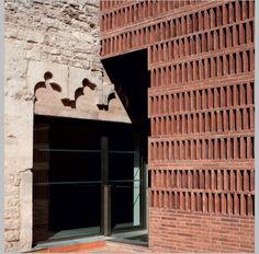 """2 Responses to """"Meritxell Inaraja; 'la Seca' restoration for Joan Brossa Scenic Area"""" Brick Cladding, Brick Facade, Brickwork, Brick Architecture, Architecture Details, Interior Architecture, Architecture Magazines, Brick In The Wall, Brick Wall"""