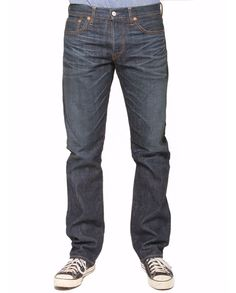 EXCLUSIVE Ron Herman Denim designed by Simon Miller  Authentic Straight Leg Jean in Midnight