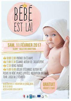 """Journée """"Bébé est là"""" le 11 février 2017 à Cluny : http://clun.yt/2kpSsXe"""