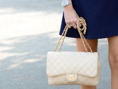 Fancy - Nude Chanel Classic Flap Bag