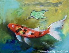 koi fish paintings - חיפוש ב-Google