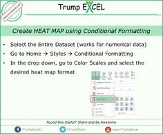 heatmap in excel