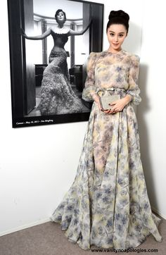 Fan Bingbing in Valentino Couture, Cannes Film Festival, 2012 Asian Fashion, Hijab Fashion, Fan Bingbing, Valentino Couture, Haute Couture Dresses, Evening Outfits, Mode Hijab, Red Carpet Looks, Beautiful Gowns