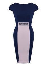 Another Label Sleeve Panel Bodycon