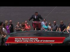 Jimmy Kimmel Live!: George Stephanopoulos, Andi Dorfman, Charles Bradley: Commercial for Fruit of the Loom with Guillermo -- Guillermo attempts to set a world record using a pair of underwear and a trampoline. -- http://www.tvweb.com/shows/jimmy-kimmel-live/season-12/george-stephanopoulos-andi-dorfman-charles-bradley--commercial-for-fruit-of-the-loom-with-guillermo