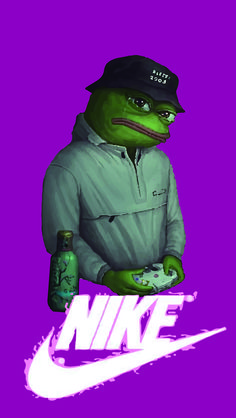 Bape Iphone 7 Wallpaper Sad Frog Pepe In Yung Lean Expression Photographic Print