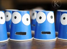 Cookie Monster - I will use these for munching sight words!